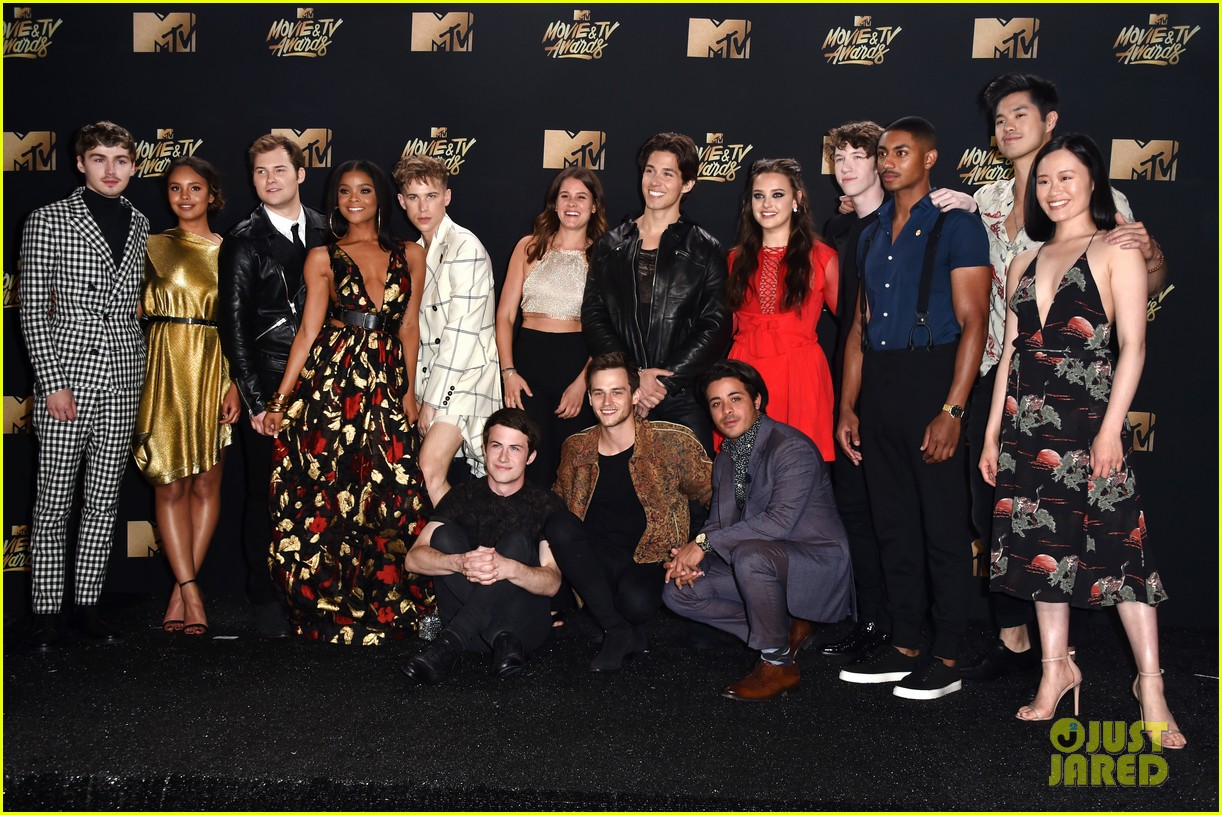 alisha boe 13 reasons why full cast mtv awards 053896377