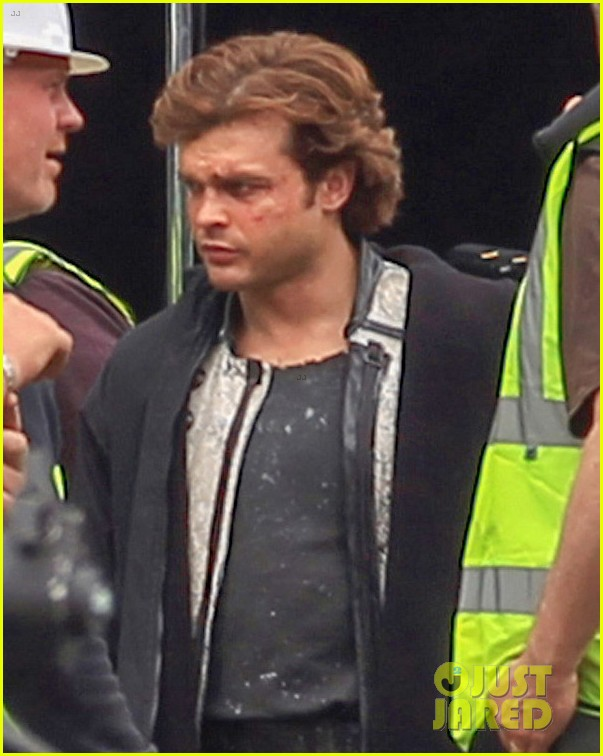 Alden Ehrenreich Spotted On Young Han Solo Movie Set