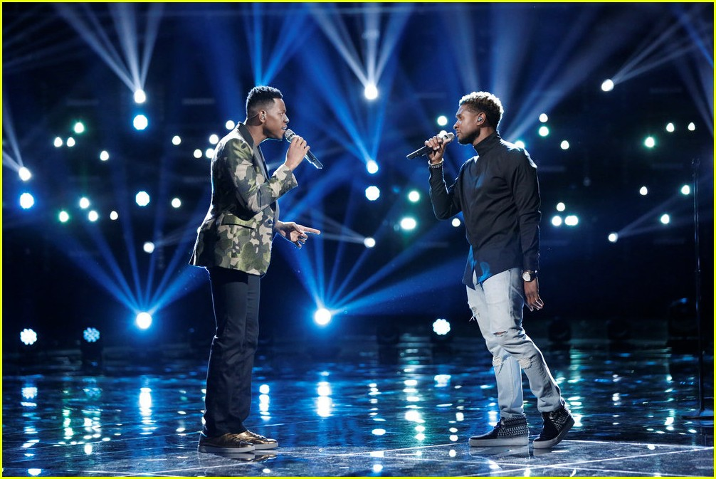 chris blue usher the voice performance 033904472