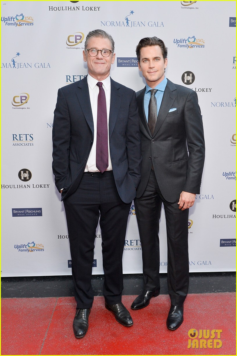 matt bomer husband simon halls honored at norma jean gala 053901454