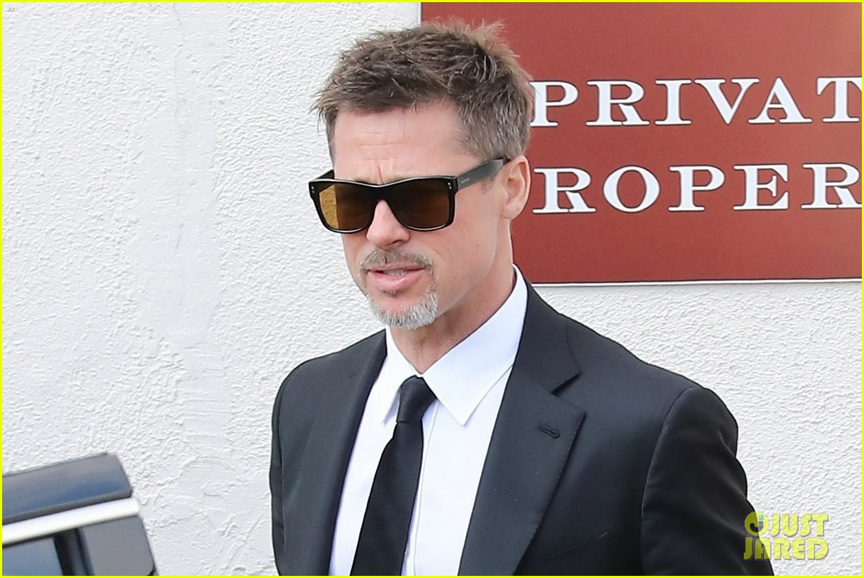 brad pitt luncheon at criags los angeles 043906244