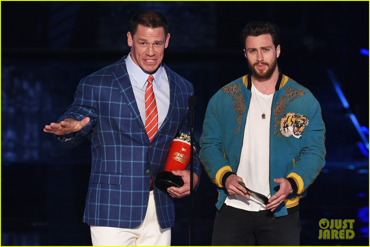 john cena aaron taylor johnson mtv awards 083896370