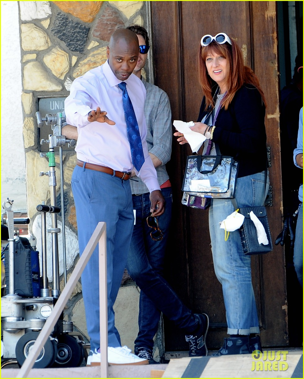 dave chappelle a star is born set photos 053897858
