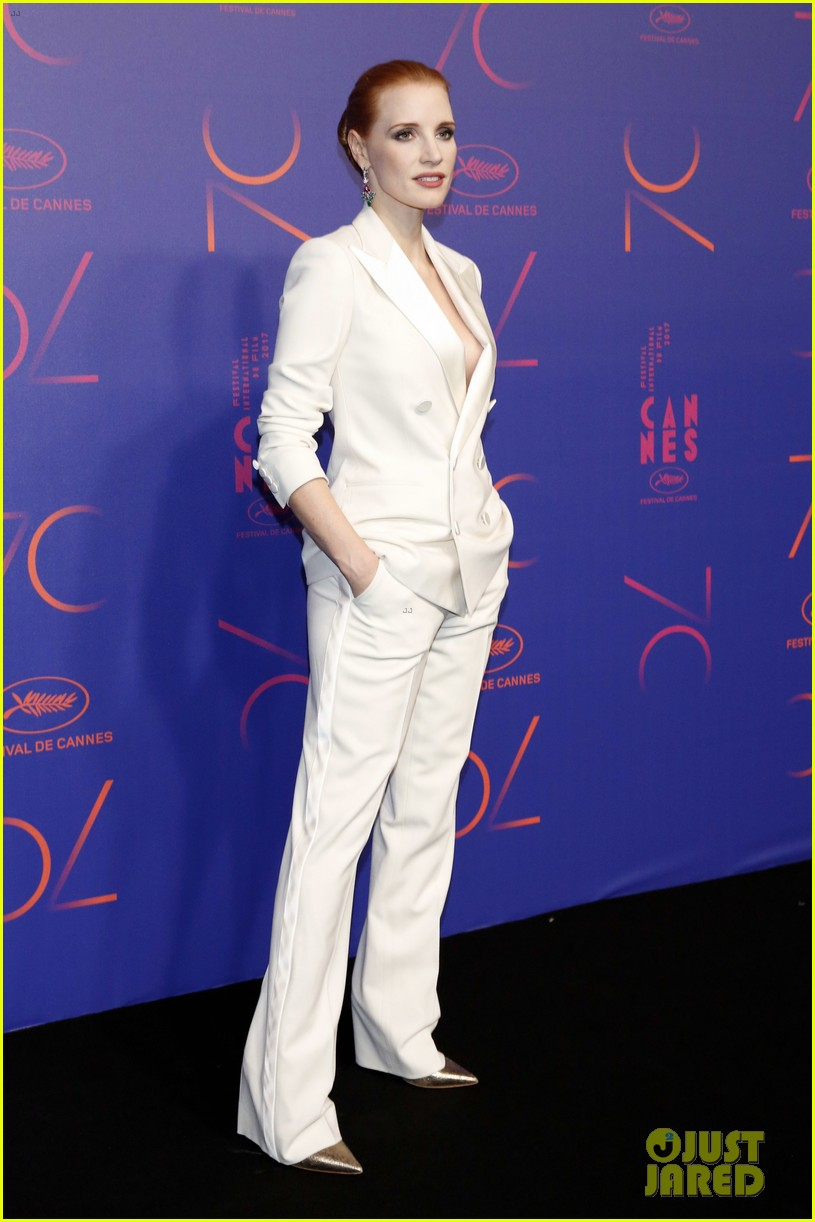 jessica chastain will smith marion cotillard hit carpet at cannes 70th anniversary 283904665