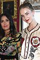 dakota johnson brings her sisters to gucci fashion show 08
