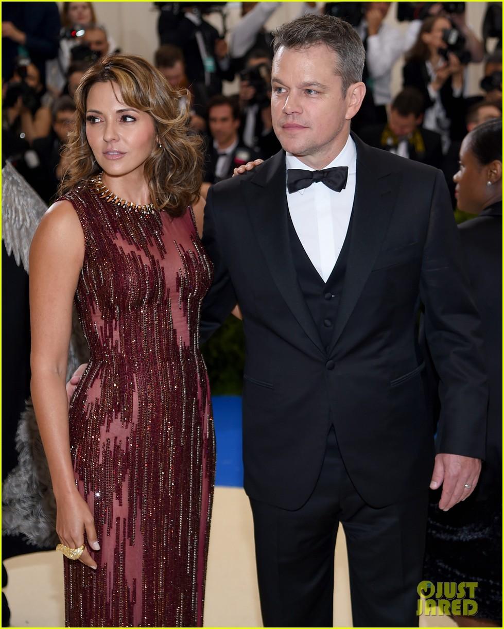 Matt Damon & Wife ...
