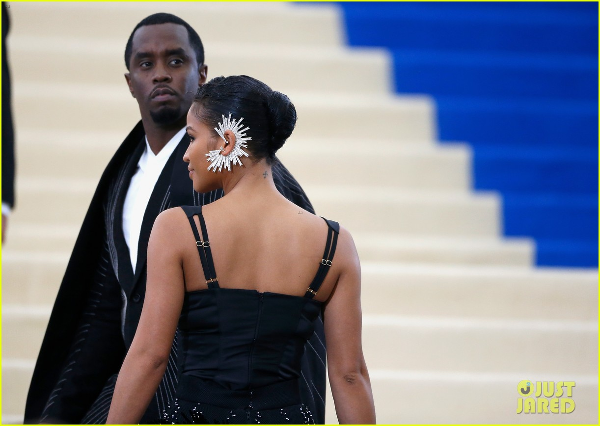 diddy explains why he laid on met gala stairs 023894219