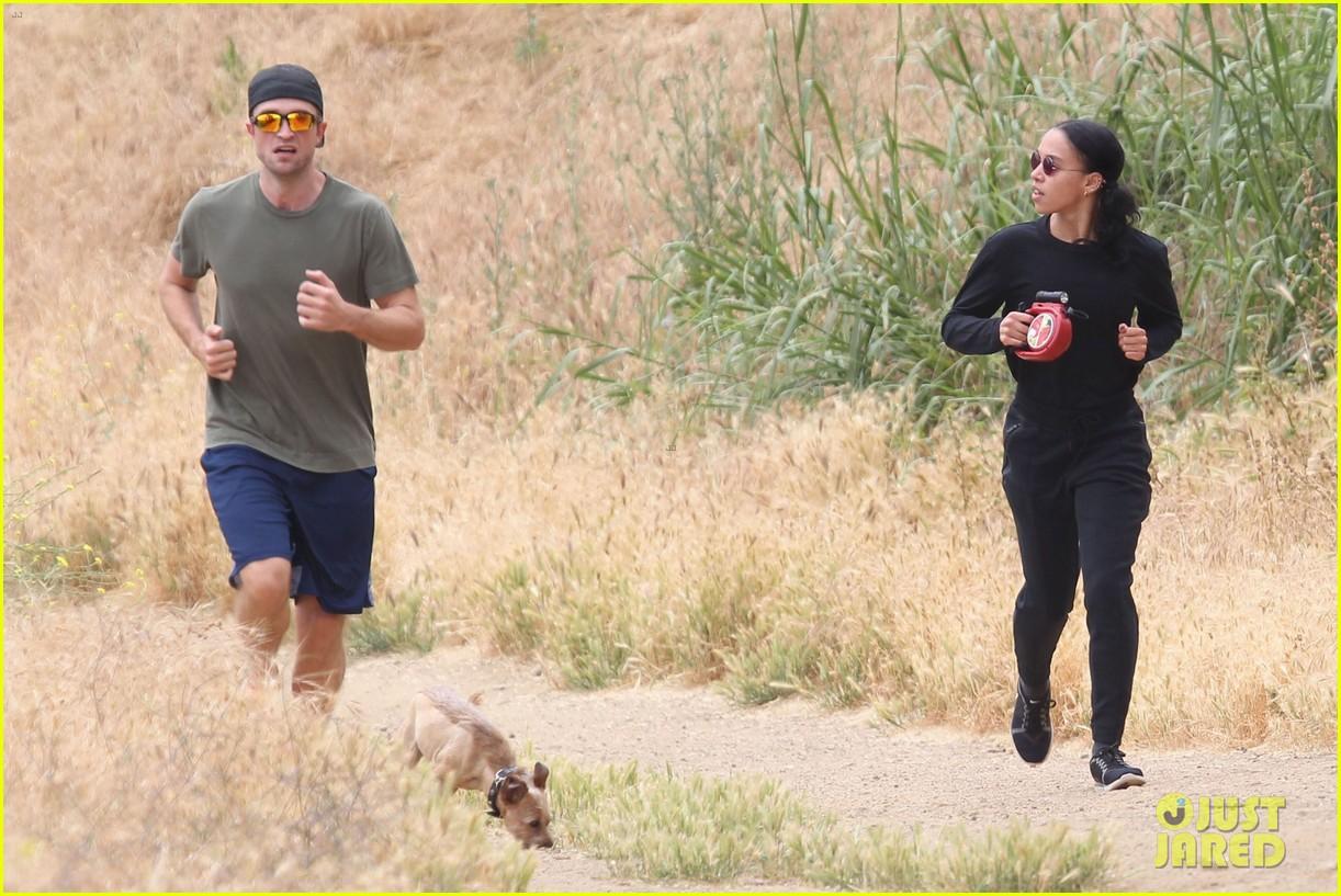 rob fka twigs take their dog for a hike023897142