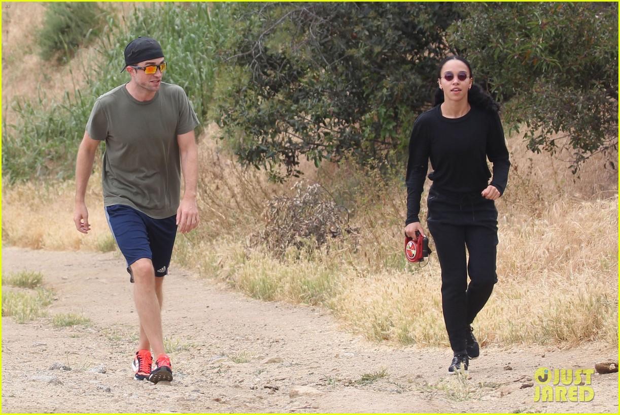 rob fka twigs take their dog for a hike053897145