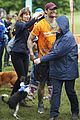 david gandy gets down dirty in the mud with his pup08