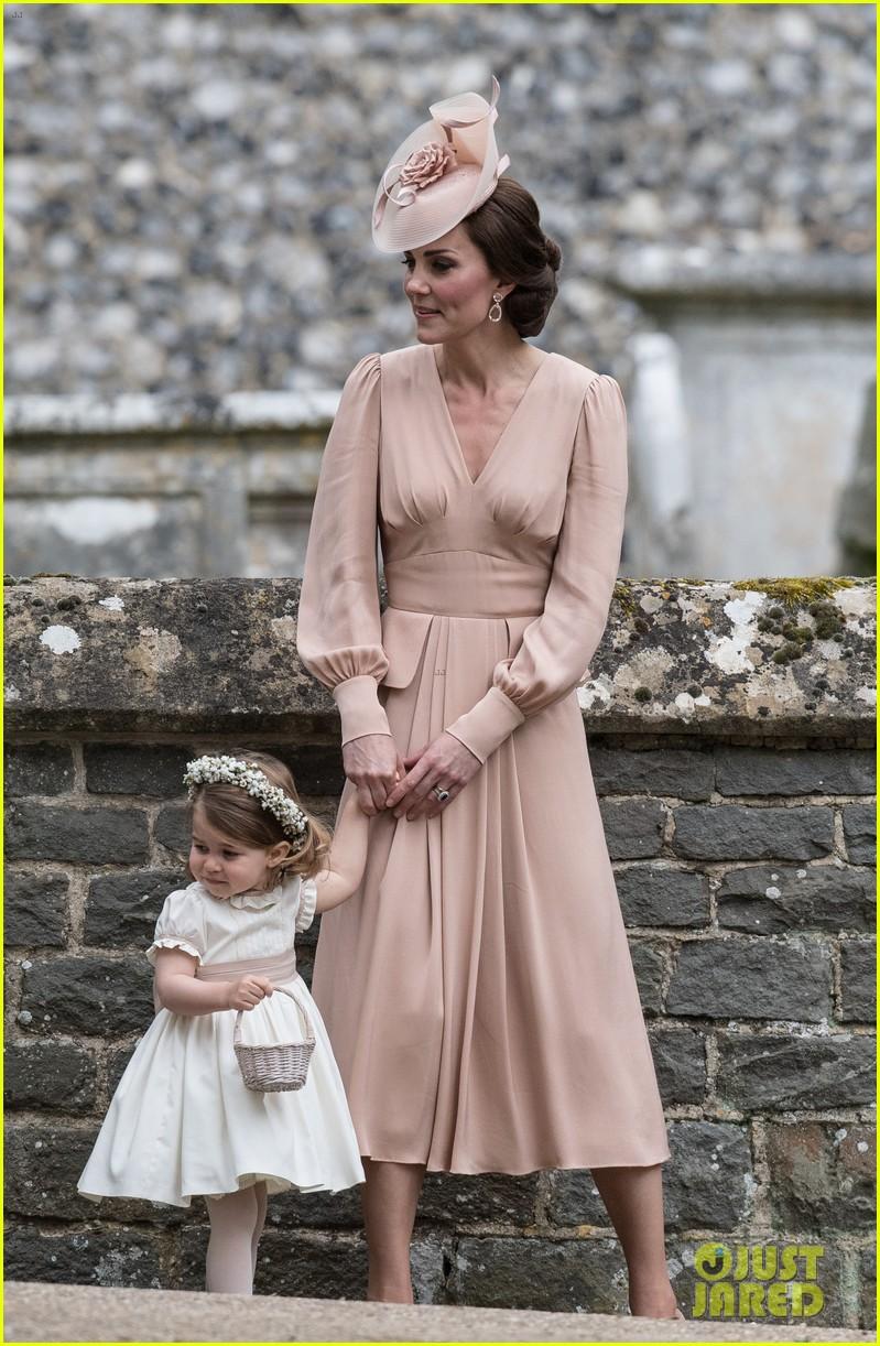 Prince George Princess Charlotte Were So Cute At Pippa