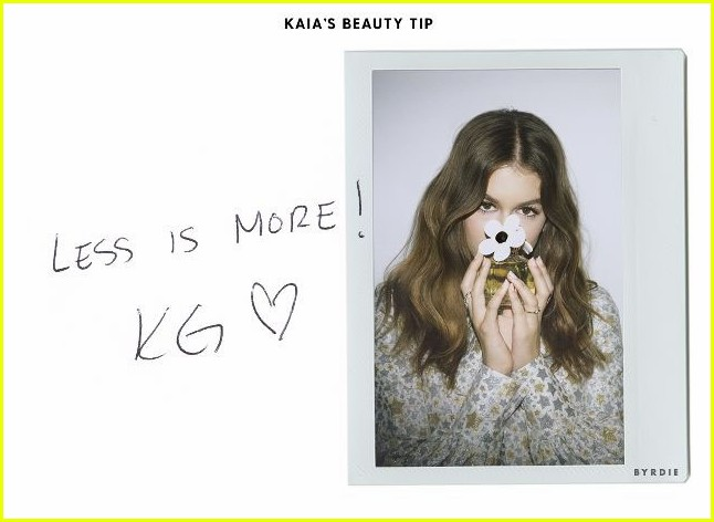 kaia gerber reveals her mom cindy crawfords best beauty tips less is more 043901281