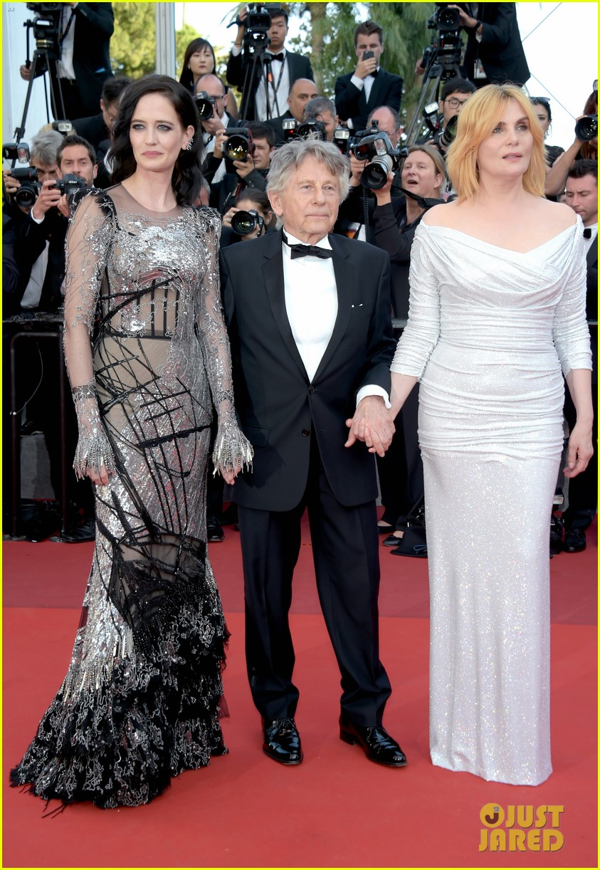 eva green joins roman polanski for their cannes premiere 013906336