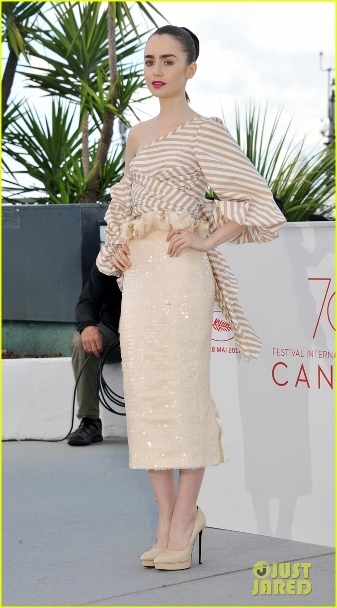 jake gyllenhaal tilda swinton lily collins debut okja at cannes film fest 073901361