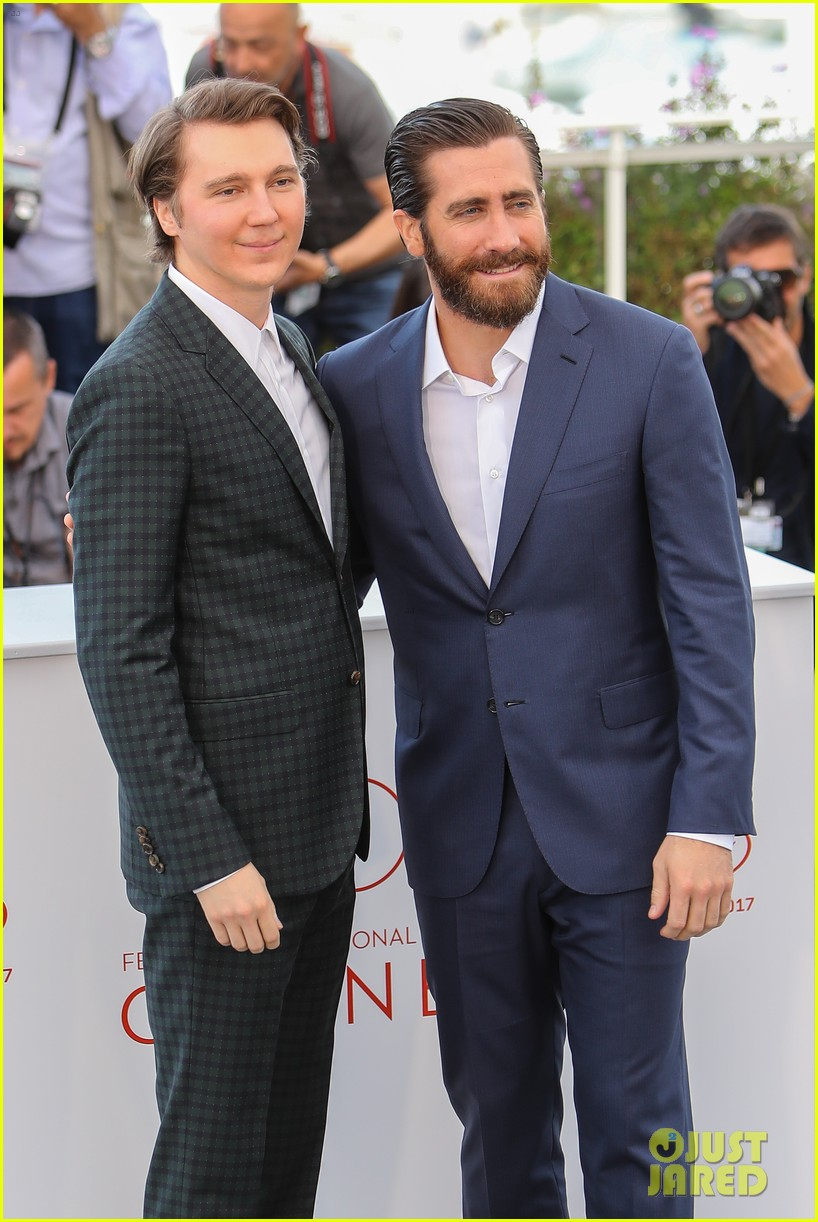 jake gyllenhaal tilda swinton lily collins debut okja at cannes film fest 103901364