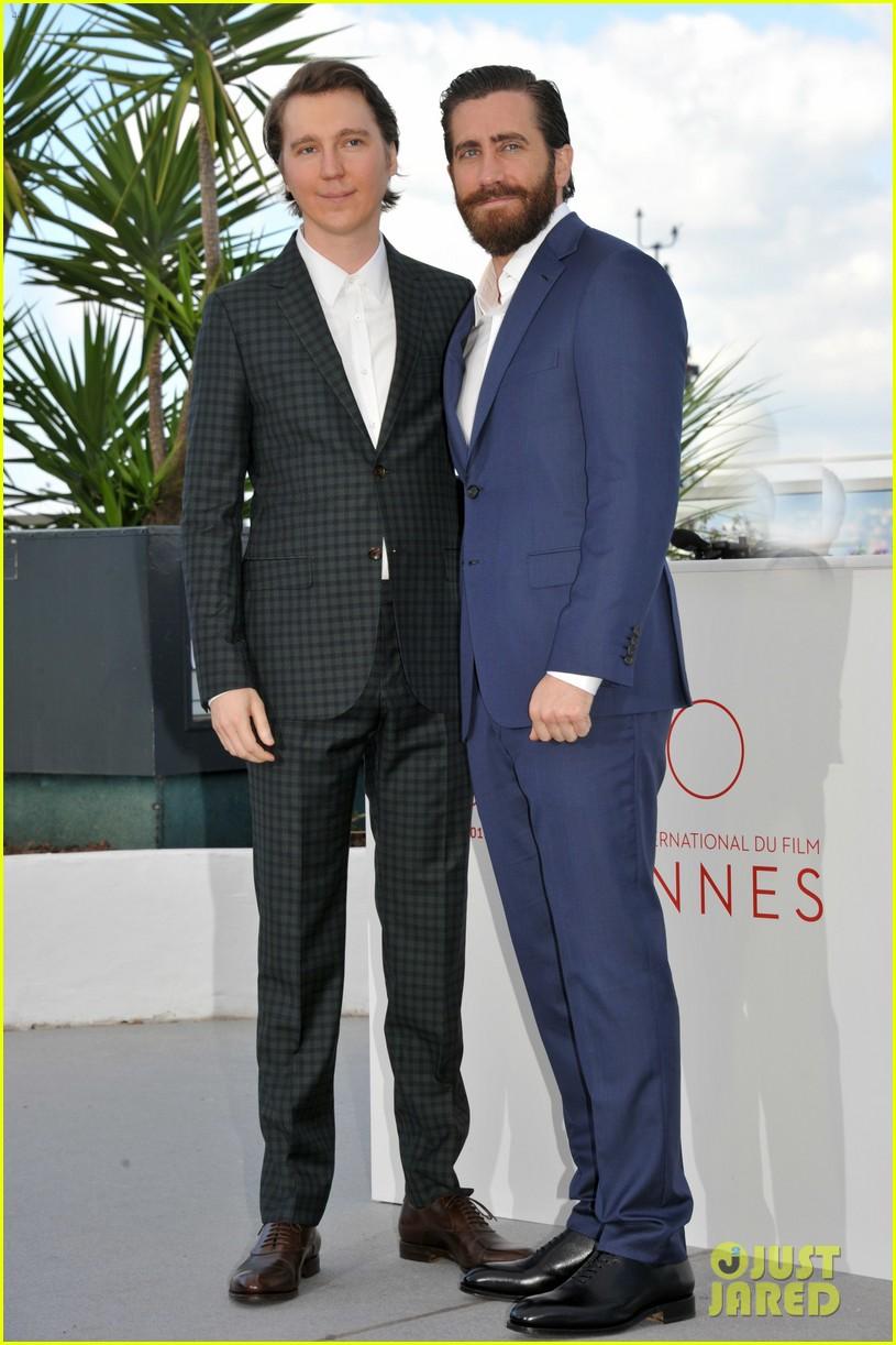 jake gyllenhaal tilda swinton lily collins debut okja at cannes film fest 153901369