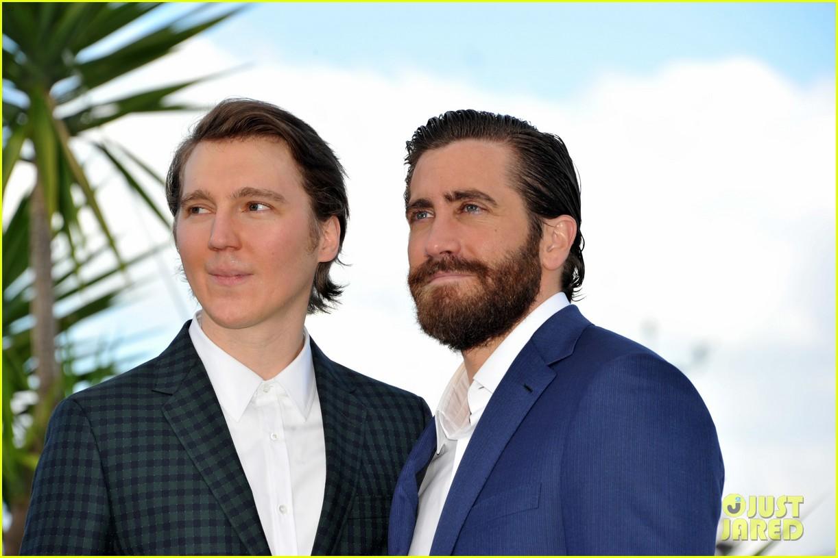 jake gyllenhaal tilda swinton lily collins debut okja at cannes film fest 173901371