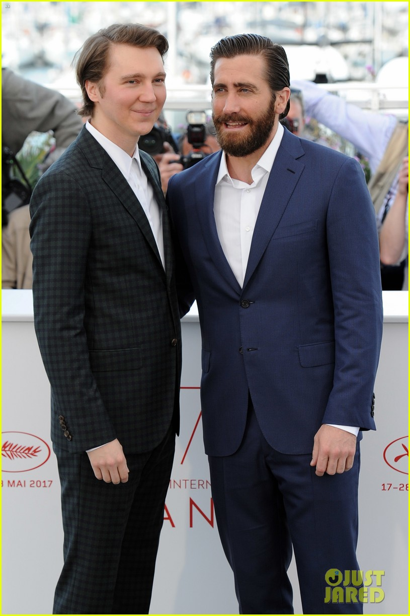 jake gyllenhaal tilda swinton lily collins debut okja at cannes film fest 283901382