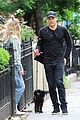 michael c hall and wife morgan macgregor take their dog for a walk 01