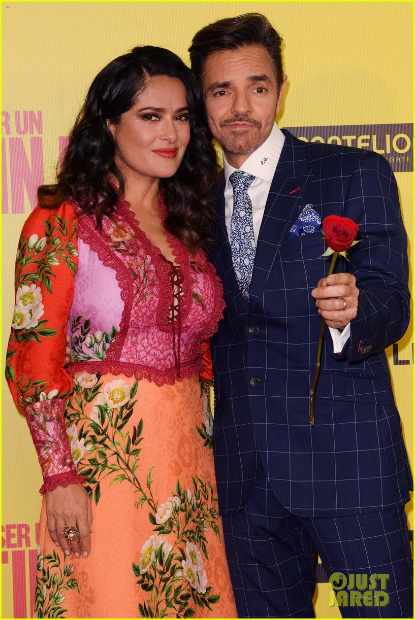 Salma Hayek's Daughter Valentina Is Not Shy In Front Of The