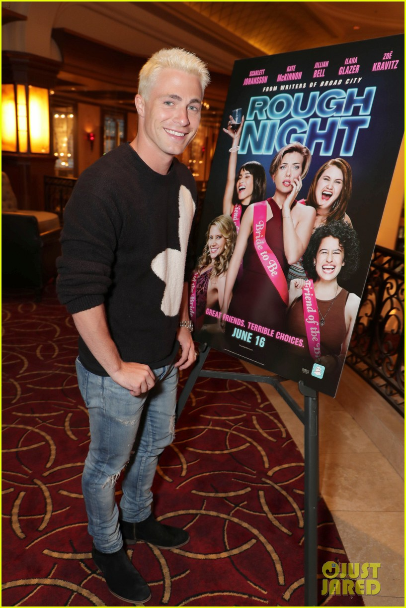 want to see colton haynes in a thong rough night is for you 023905141