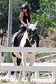 vanessa hudgens enjoys an afternoon of horseback riding01