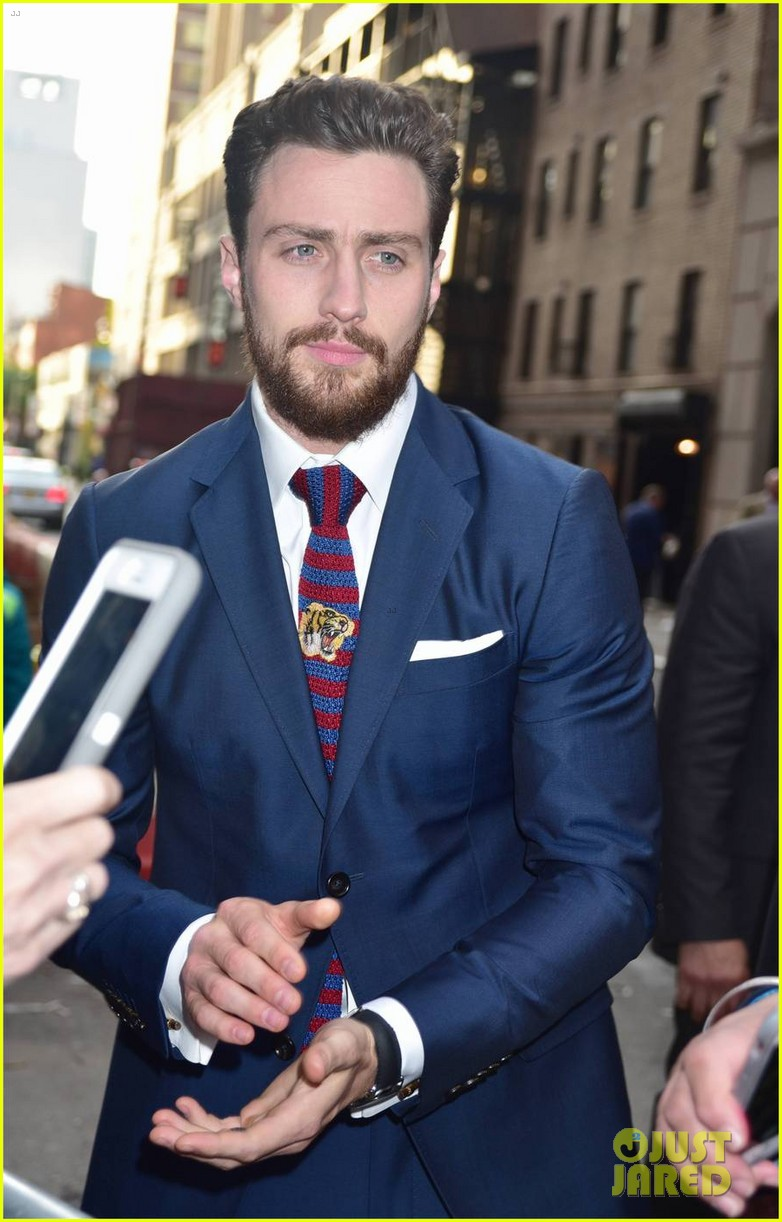Aaron Taylor-Johnson Bulked Up For 'The Wall' With Help ...
