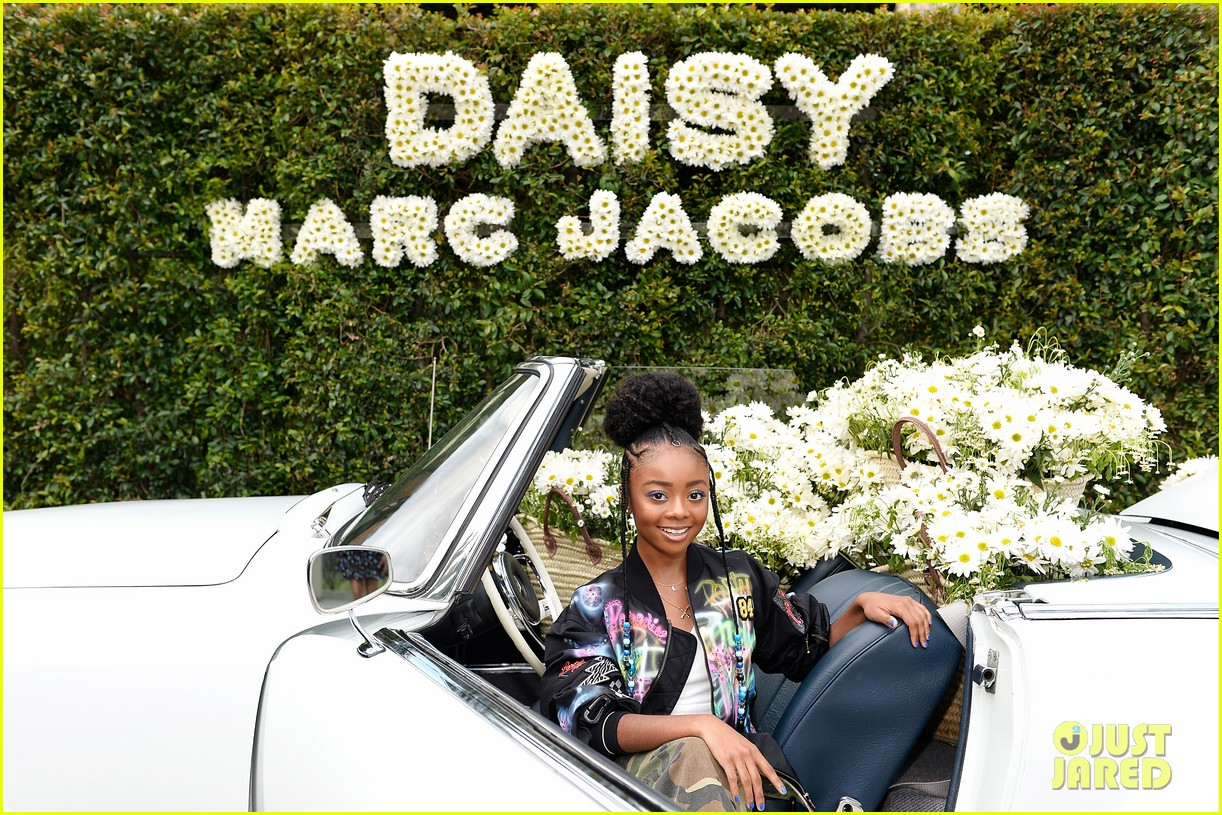 kaia geber marc jacobs daisy fragrance launch 103897319