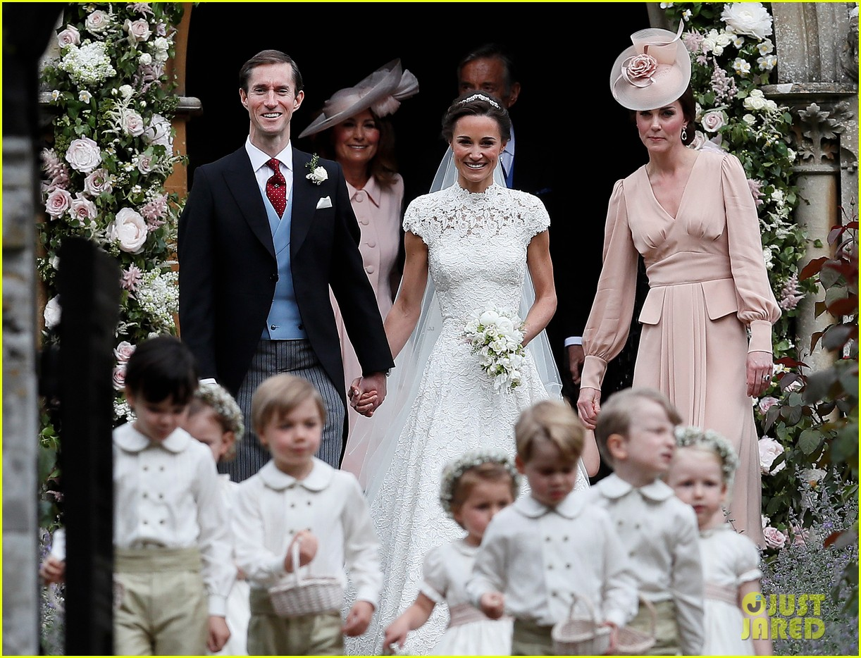 Kate Middleton Prince William Kids Attend Pippa S Wedding Photos