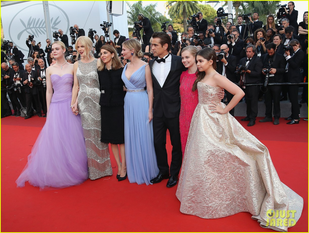 Nicole Kidman Kirsten Dunst Amp Elle Fanning Glam It Up For