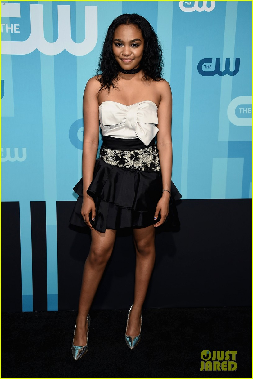 lucy hale cress williams cw 2017 upfronts 013900896