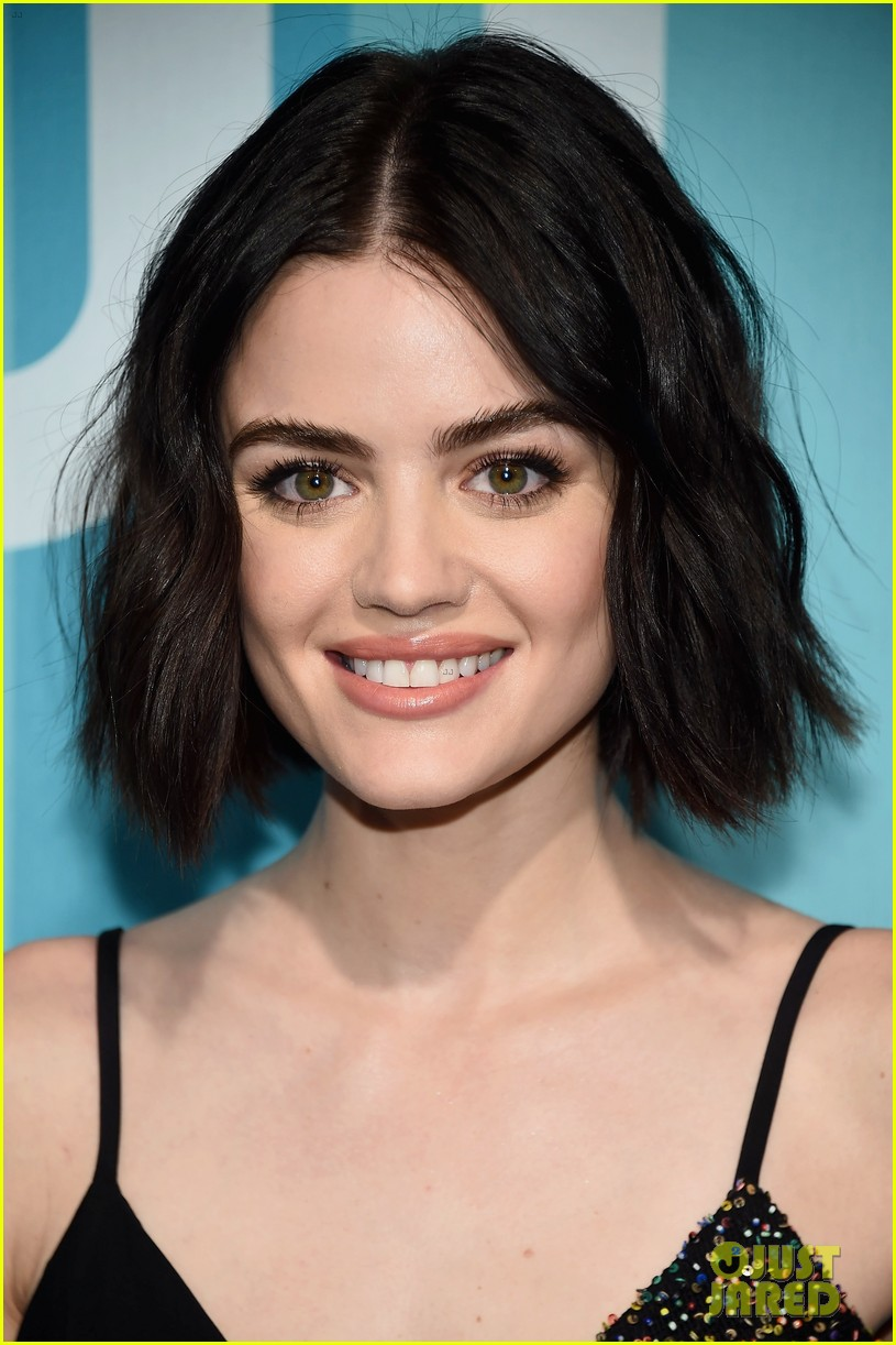 lucy hale cress williams cw 2017 upfronts 023900897