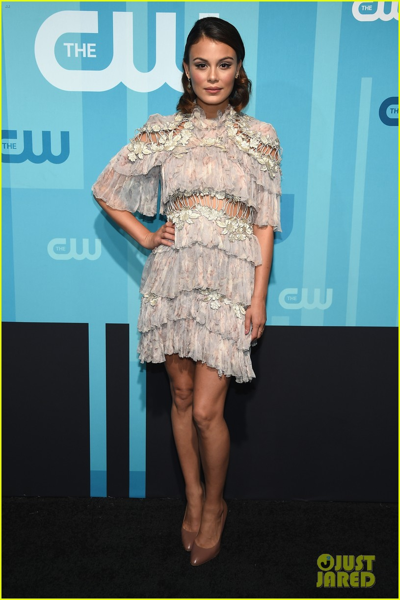 lucy hale cress williams cw 2017 upfronts 053900900