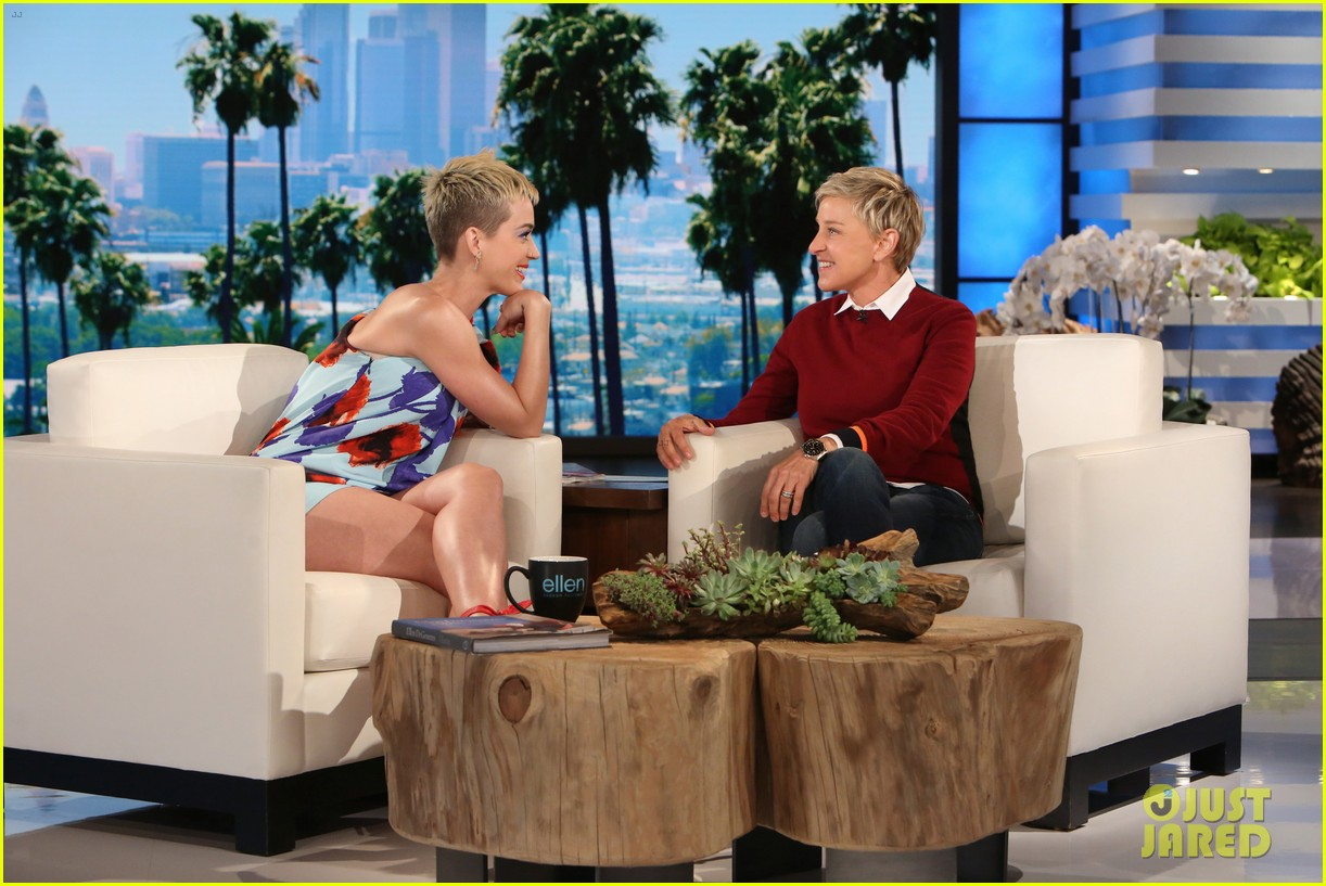 ellen forgot that katy perry once was married 013899875