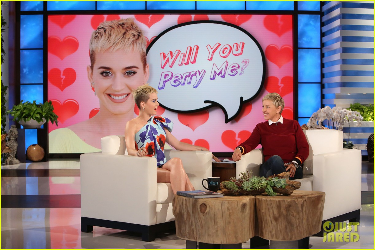 ellen forgot that katy perry once was married 023899876