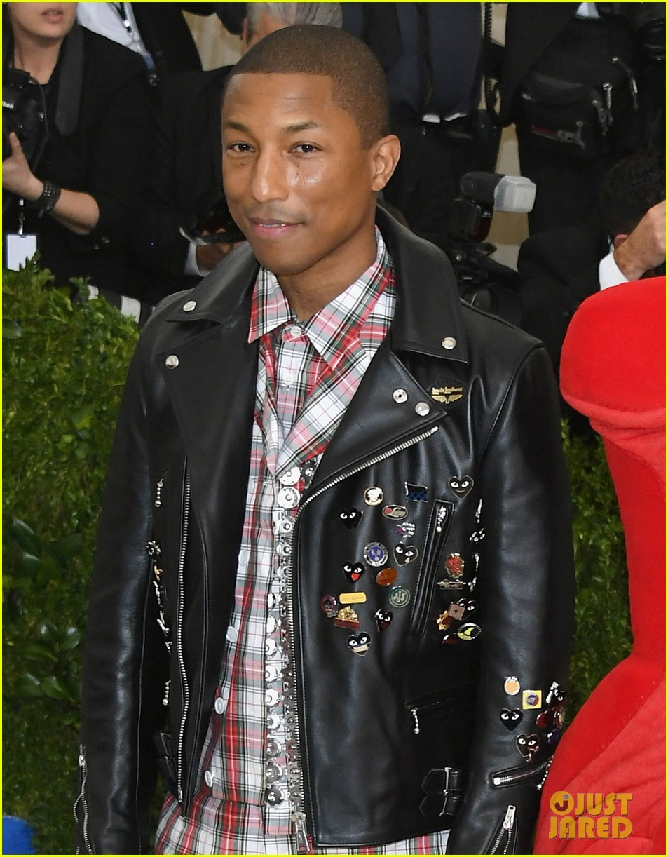 Pharrell Williams Wears Ripped Jeans to Met Gala 2017 ...