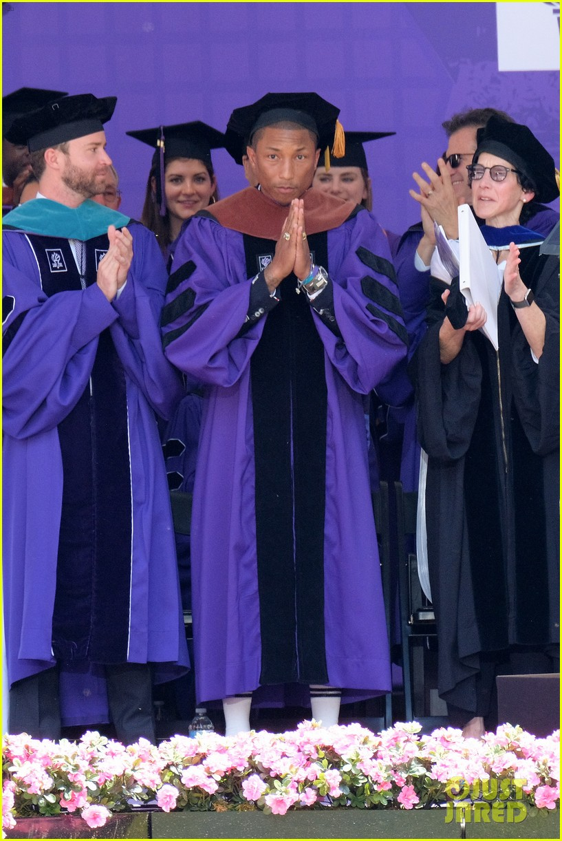 Pharrell Williams Speaks About Women\'s Rights During NYU ...