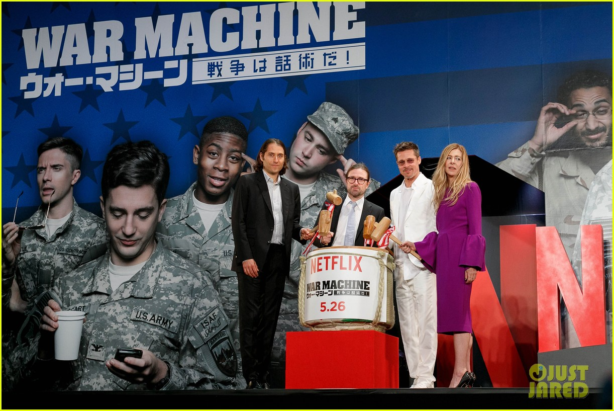 brad pitt says war machine wouldnt have been made without netflix 023903999