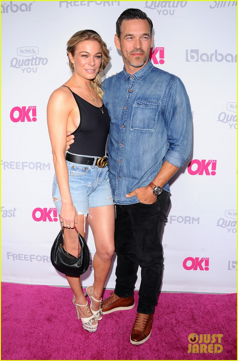 leann rimes eddie cibrian famous in love cast live it up at ok mag 013900982