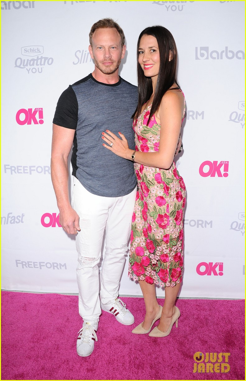 leann rimes eddie cibrian famous in love cast live it up at ok mag 033900984