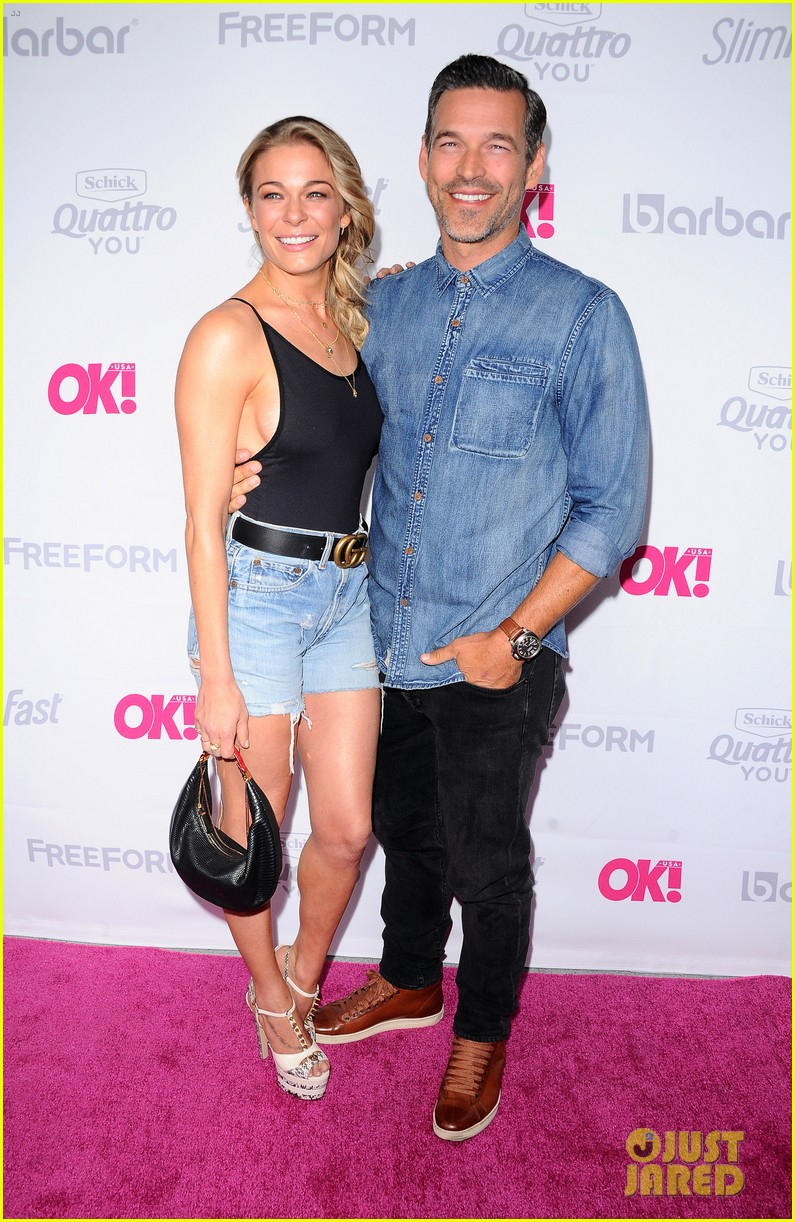 leann rimes eddie cibrian famous in love cast live it up at ok mag 453901026