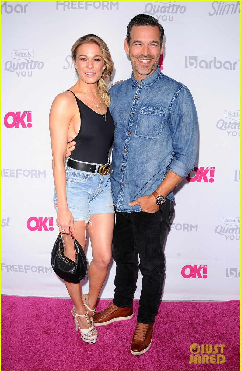 leann rimes eddie cibrian famous in love cast live it up at ok mag 463901027