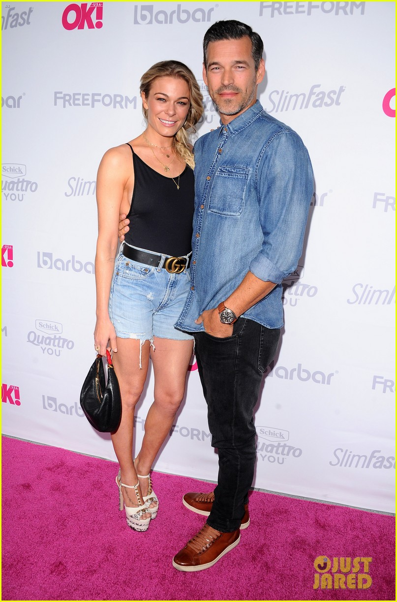 leann rimes eddie cibrian famous in love cast live it up at ok mag 473901028