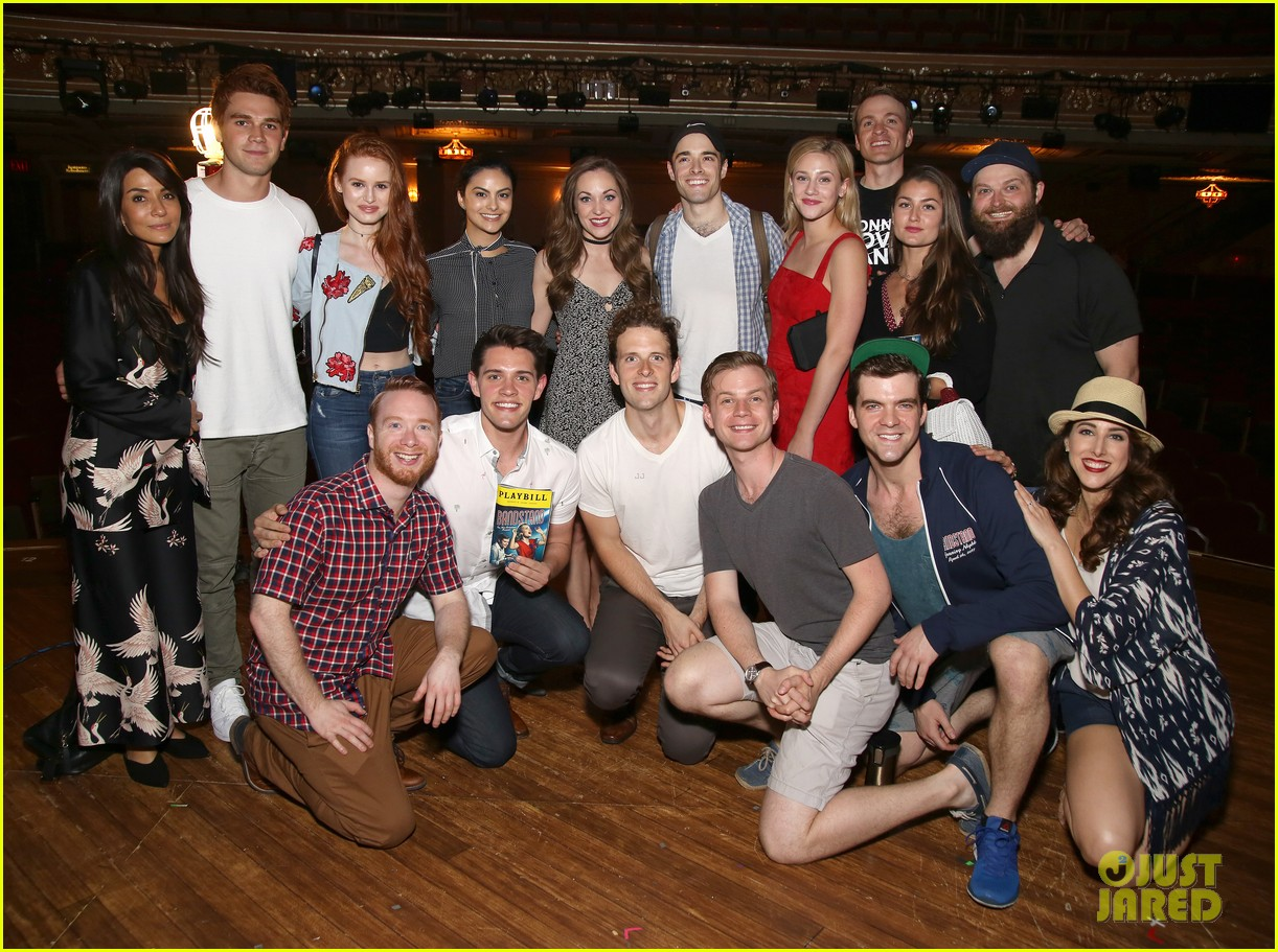 Corey cotts brother casey visits bandstand with riverdale cast corey cotts brother casey visits bandstand with riverdale cast m4hsunfo
