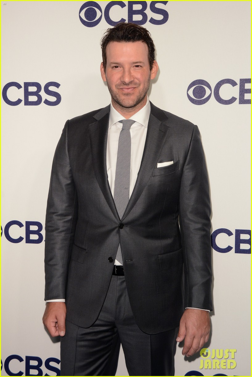 tony romo cbs upfronts 2017 nyc 053900596