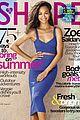 zoe saldana shape magazine 09