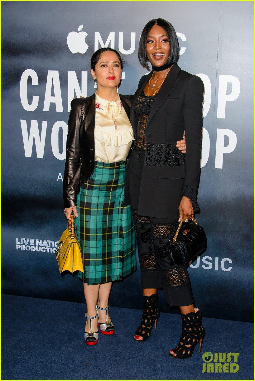 salma naomi lupita attend cant stop wont stop premiere013899920