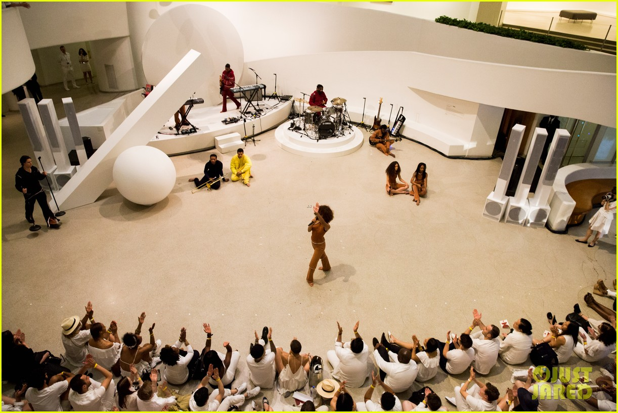 solange knowles guggenheim performance 323901682
