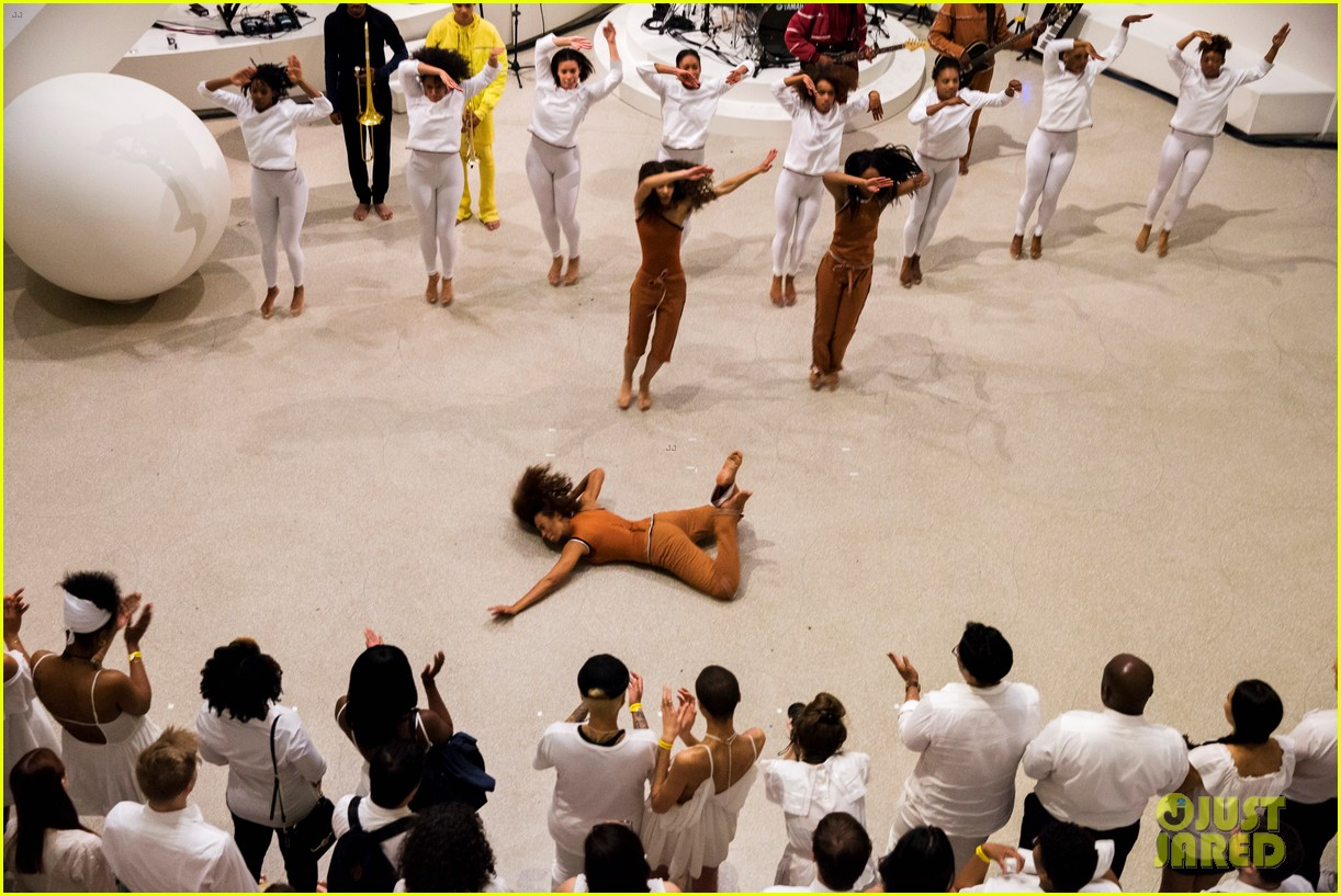 solange knowles guggenheim performance 373901687