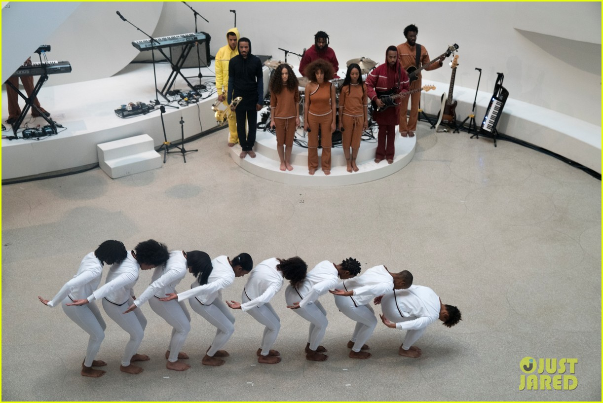 solange knowles guggenheim performance 433901693